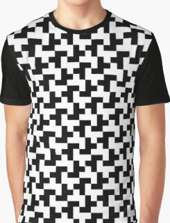Pixel pattern Graphic T-Shirt