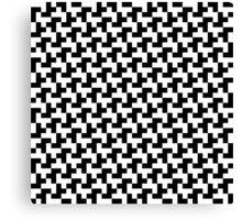 Pixel pattern Canvas Print