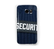 Security jumper tie and badge. Samsung Galaxy Case/Skin