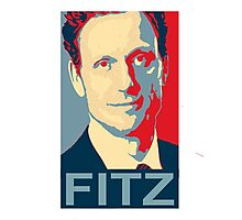 """ I'm the Commander in Chief "" - President Fitz * laptop skins, and mugs added * Photographic Print"
