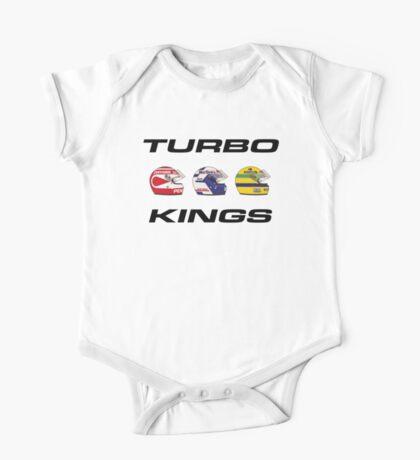 F1 80s TURBO KINGS - PIQUET/PROST/SENNA One Piece - Short Sleeve