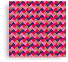 Z tiles pattern Canvas Print