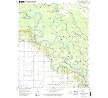 USGS TOPO Map Arkansas AR Crocketts Bluff 258270 1967 24000 Photographic Print