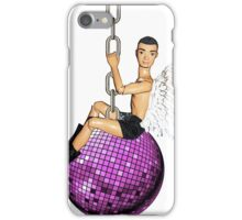 He Came In On a Disco Ball! iPhone Case/Skin