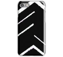 abstract black iPhone Case/Skin