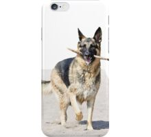 German sheperd iPhone Case/Skin