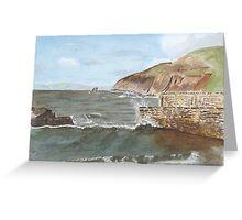Port Wrinkle 2    by John Rees Greeting Card
