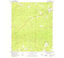 USGS TOPO Map Arkansas AR Newhope 259235 1969 24000 Photographic Print
