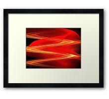 Red Sand Dunes Framed Print