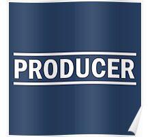 Produser white Poster