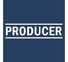 Produser white Photographic Print