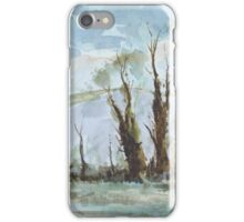 Lewes (after Edward Wesson) by Edward Scale iPhone Case/Skin