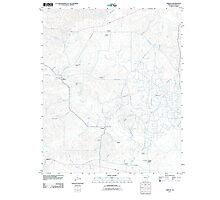 USGS TOPO Map Arkansas AR Urbana 20110711 TM Photographic Print