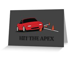 Hit The Apex Greeting Card