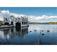 The house on the lake Photographic Print