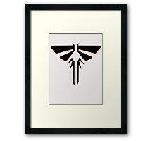Firefly Logo ( The Last of Us ) Framed Print