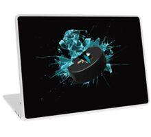 San Jose Sharks puck Laptop Skin