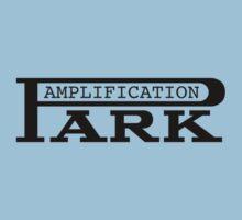 Vintage park amp black Kids Tee