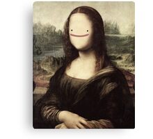Mona Lisa ditto Canvas Print