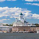 Helsinki Cityscape by Johannes Valkama