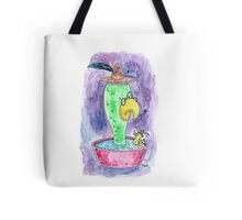 Bathing with Leduck Tote Bag