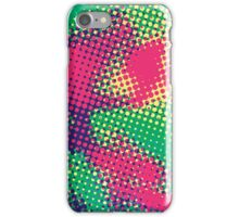 Abstract Pop Art Halftone Pattern iPhone Case/Skin