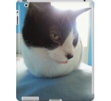 Poilu et sa langue iPad Case/Skin