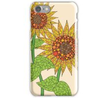 Colorful Sunflowers iPhone Case/Skin