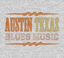 Austin texas blues music One Piece - Long Sleeve