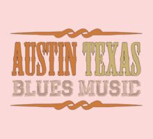 Austin texas blues music One Piece - Long Sleeve
