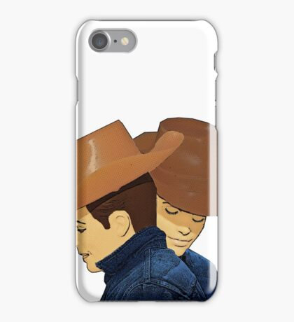 Broke Back Mountain Cowboys! iPhone Case/Skin
