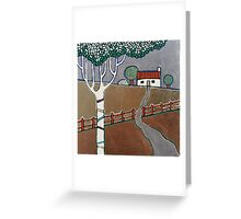 Follow The Path Home Greeting Card