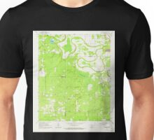 USGS TOPO Map Arkansas AR Pinebergen 259404 1964 24000 Unisex T-Shirt