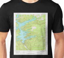 USGS TOPO Map Arkansas AR Narrows Dam 259207 1969 24000 Unisex T-Shirt