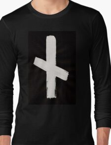 Anglo-Saxon Futhorc nȳd need angst n Inverted Long Sleeve T-Shirt