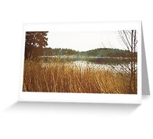Let the waters float us down Greeting Card