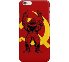 Zangief The Red Cyclone iPhone Case/Skin