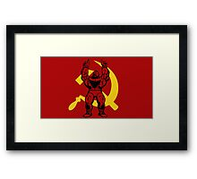 Zangief The Red Cyclone Framed Print