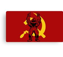 Zangief The Red Cyclone Canvas Print