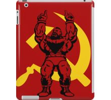 Zangief The Red Cyclone iPad Case/Skin