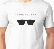 (anonymous was a woman) Unisex T-Shirt