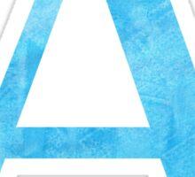 blue a // alpha Sticker