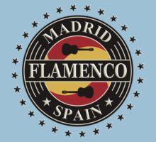Madrid flamenco spain Kids Tee