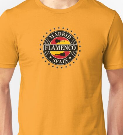 Madrid flamenco spain Unisex T-Shirt