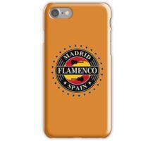 Madrid flamenco spain iPhone Case/Skin
