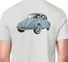 Volkswagen, BEETLE, VW, Bug, Motor, Car, Blue Unisex T-Shirt