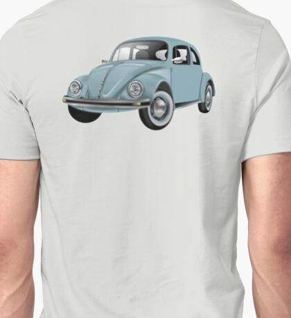 Volkswagen, BEETLE, VW, Bug, Motor, Car, Blue Unisex T-Shirt