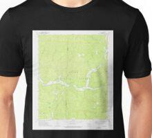 USGS TOPO Map Arkansas AR Yale 259923 1973 24000 Unisex T-Shirt