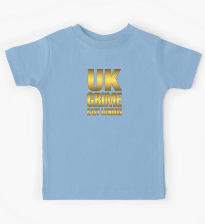 Golden UK grime Kids Tee