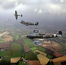 Spitfire sweep by Gary Eason